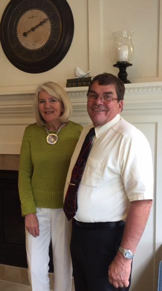 Sales Director, Kelley McCarthy and CEO, Kirt Sampson