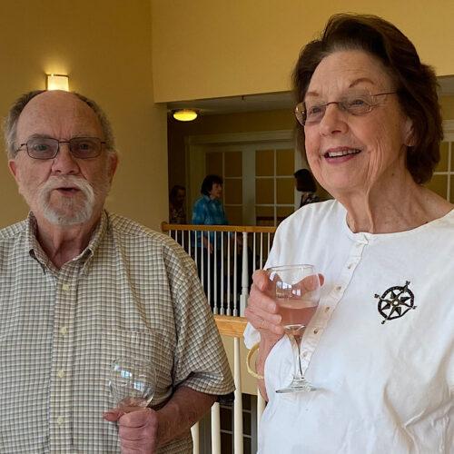 Ken Ahlering & Betty Hahn